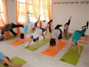 Открытия студии йоги