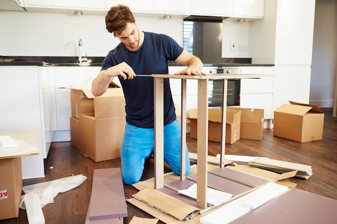 Furniture Assembly at home