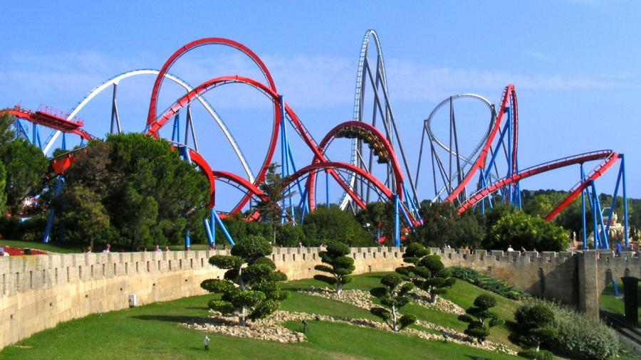 amusement park, attraction park
