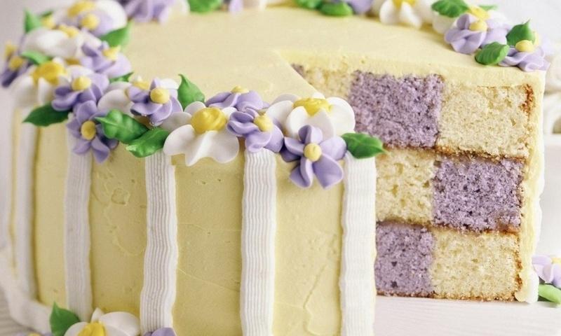 Украшение пирожен и тортов с фотографиями